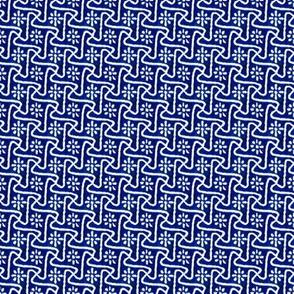 Pinwheels - Cobalt