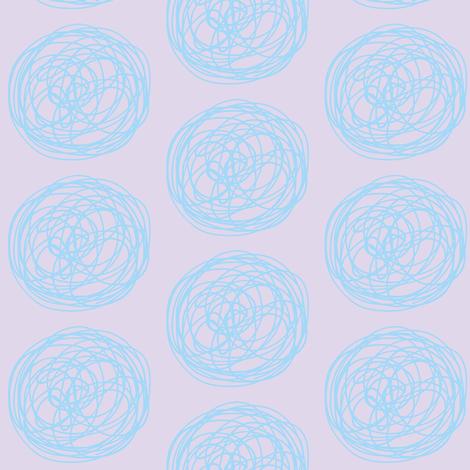 tumbleweed (lilac & sky) fabric by pattyryboltdesigns on Spoonflower - custom fabric