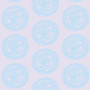 tumbleweed (lilac & sky)