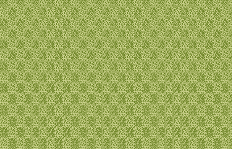 petals and wirls in green fabric by alyson_chase on Spoonflower - custom fabric