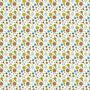Robot Baby Polka Dots