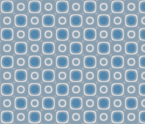 Limestone Squares and Circles © Gingezel™ fabric by gingezel on Spoonflower - custom fabric