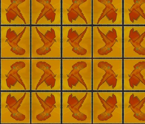 dove fabric by vinkeli on Spoonflower - custom fabric