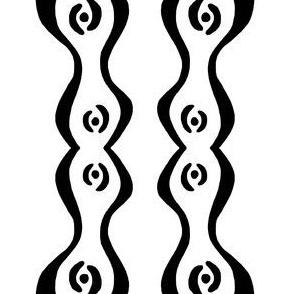 wiggly ripple stripe 1