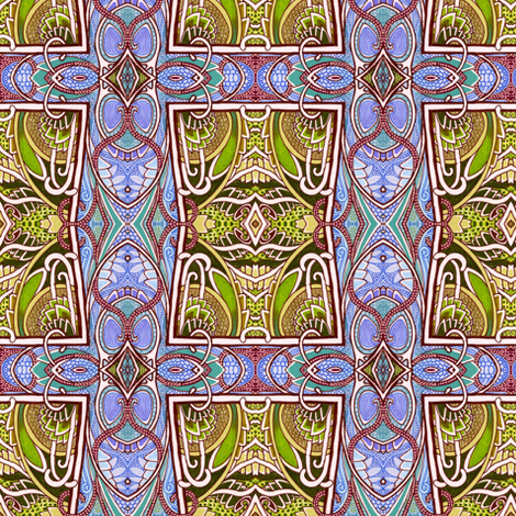 Solitaire fabric by edsel2084 on Spoonflower - custom fabric