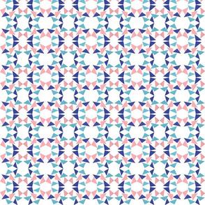 triangle pinkblue