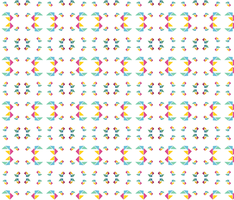 triangle 13 fabric by studiojelien on Spoonflower - custom fabric