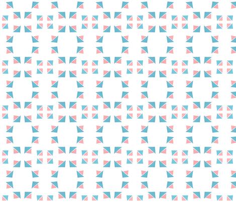 triangle 14 fabric by studiojelien on Spoonflower - custom fabric