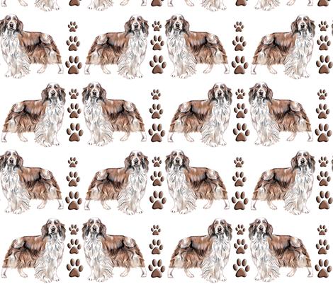 Welsh Springer Spaniel fabric by dogdaze_ on Spoonflower - custom fabric