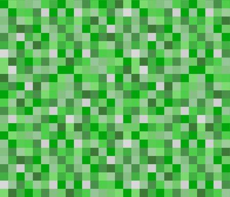Life Like Lighter Green Pixel Blocks 1 5 Quot Fabric