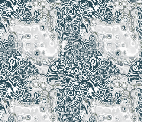 Organic Optical Illusion 7 fabric by animotaxis on Spoonflower - custom fabric