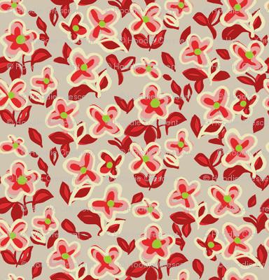 Rumba Flower / Gray