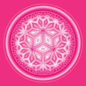 Scilla Circles in Pink © Gingezel™ 2012