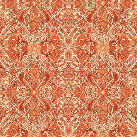 Lotta Terracotta fabric by edsel2084 on Spoonflower - custom fabric