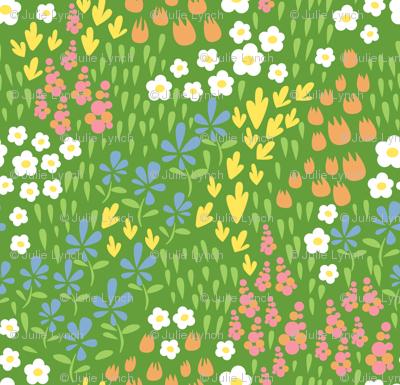 spring field designs green