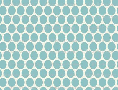 Egg Dot / Aqua