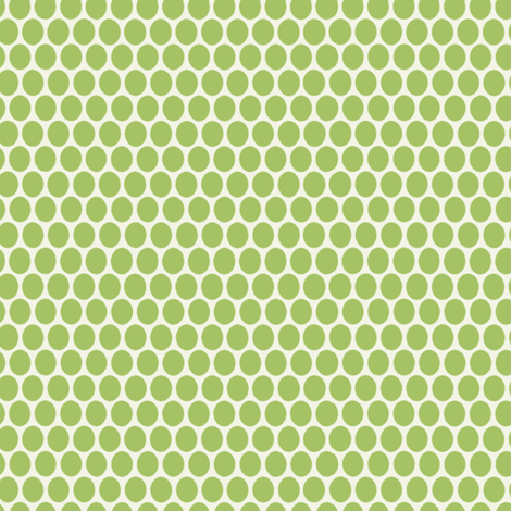 Egg Dot / Lettuce fabric by hoodiecrescent&stars on Spoonflower - custom fabric