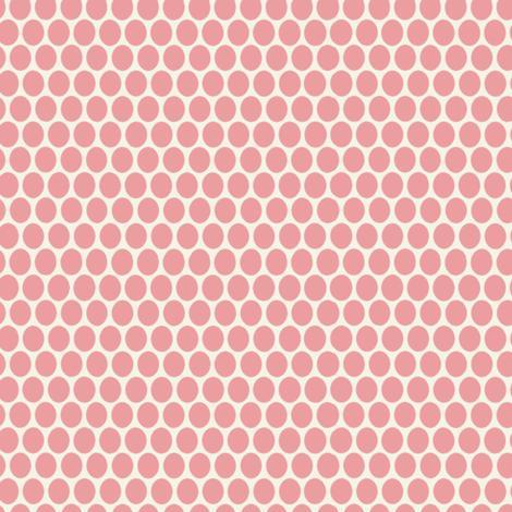 Egg Dot / Pink fabric by hoodiecrescent&stars on Spoonflower - custom fabric