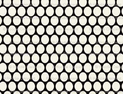 Egg Dot / Black & White