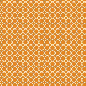 Hoop Dot / Orange