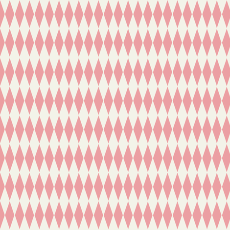 Diamond_check_pink fabric by hoodiecrescent&stars on Spoonflower - custom fabric