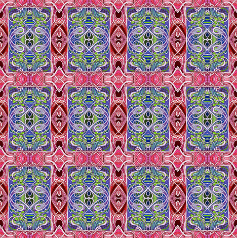 What A Card fabric by edsel2084 on Spoonflower - custom fabric