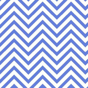 Chevron in Bluebell