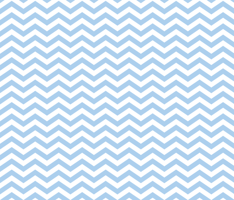 Chevron in Cornflower Blue fabric by jessicabonilla on Spoonflower - custom fabric