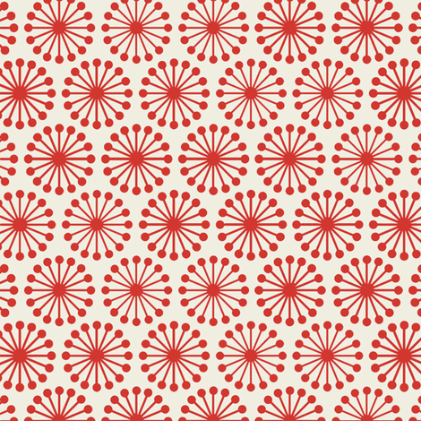 Cheer_Wheel__Red fabric by hoodiecrescent&stars on Spoonflower - custom fabric