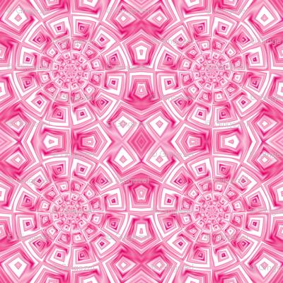 Pink Spiral Tile © Gingezel™ 2012