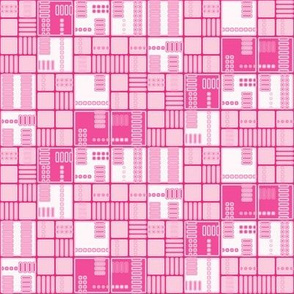 Pink Urban Grid © Gingezel™ 2012