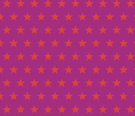 star red violet fabric by katarina on Spoonflower - custom fabric