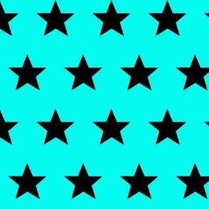 star aqua black