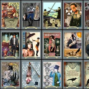Men of Tarot - Prayer Flag Collection