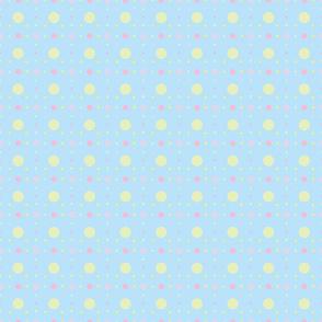 pastel spots + dots