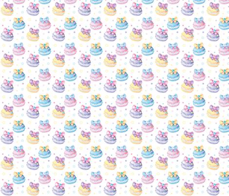 Pastel Macaron fabric by frilansara on Spoonflower - custom fabric