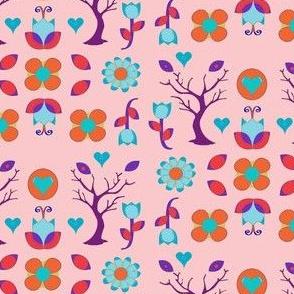 Swedish Flower-Pink