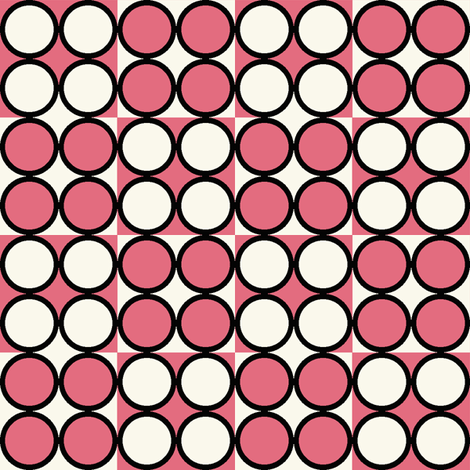 Spot_Pink fabric by hoodiecrescent&stars on Spoonflower - custom fabric