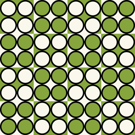 Spot_Lime fabric by hoodiecrescent&stars on Spoonflower - custom fabric