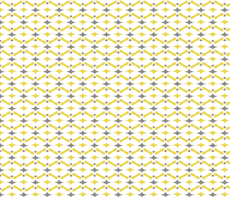 mustache repeat pattern fabric by katarina on Spoonflower - custom fabric