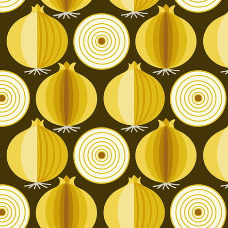onion fabric by hoodiecrescent&stars on Spoonflower - custom fabric