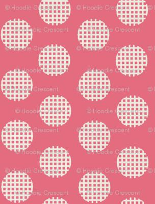 Waffle Dot / Pink
