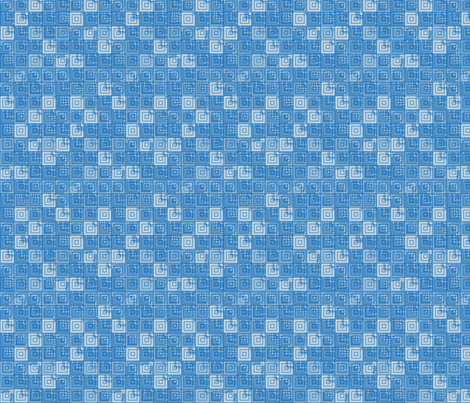 Blue and White Textured Tiles © Gingezel™ fabric by gingezel on Spoonflower - custom fabric
