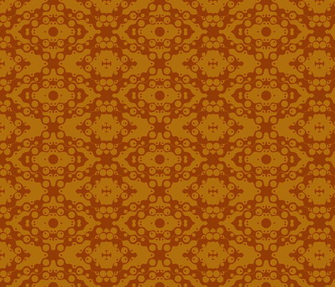 ©2011 Root Beer Soda fabric by glimmericks on Spoonflower - custom fabric