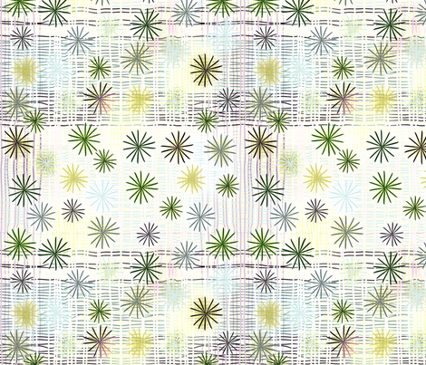 ©2011 Starry Weave - fjord fabric by glimmericks on Spoonflower - custom fabric