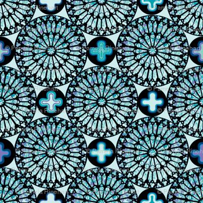 ©2011 the rose window - aquamarine