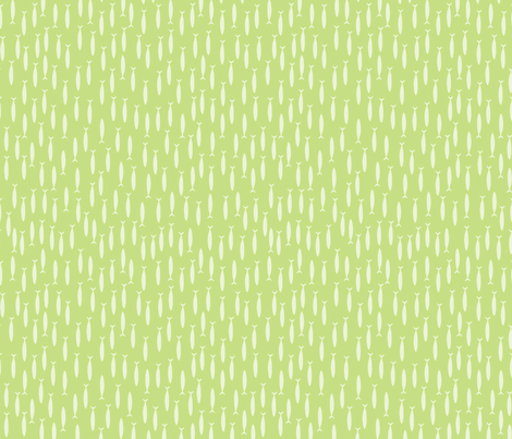 Little fish (green) fabric by mondaland on Spoonflower - custom fabric