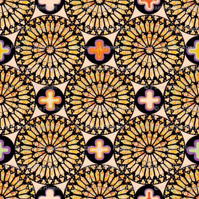 ©2011 the rose window - deus lux