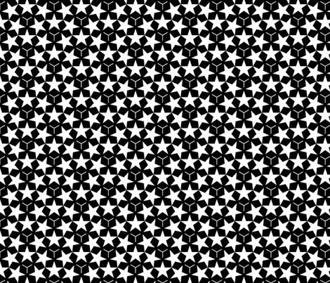 U53 V1 stars fabric by sef on Spoonflower - custom fabric