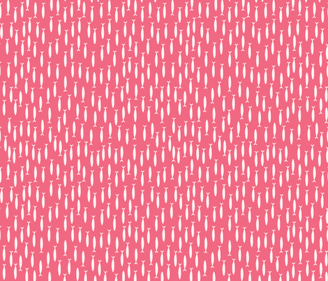 Little fish (red) fabric by mondaland on Spoonflower - custom fabric